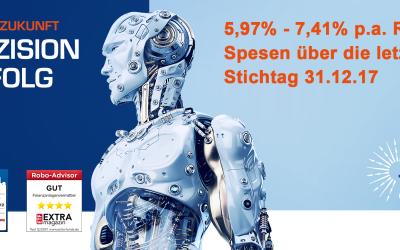 Einer der besten Robo Advisor aus Deutschland mit Top Performance!