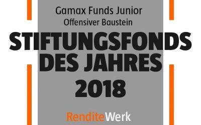 Stiftungsfonds des Jahres 2018