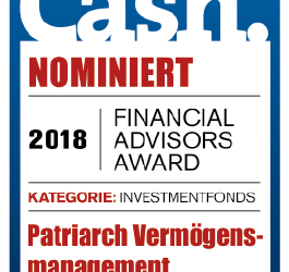 Cash Award Nominierung 2018
