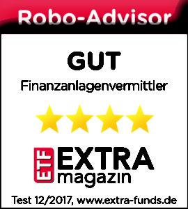 Logo ETF-Magazin truevest-Testsiegel-GUT