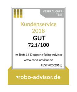 Logo - Servicesiegel von truevest von www.robo-advisor.de