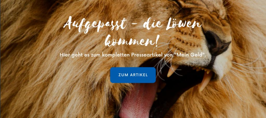 Liontrust - die Löwen kommen