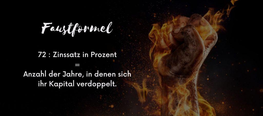Faustformel