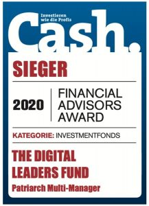 The Digital Leaders Funds - Gewinner Financial Advisor Award 2020