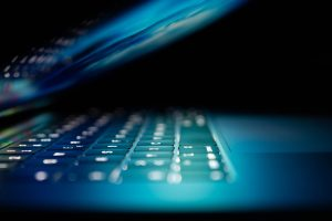 Laptop offen