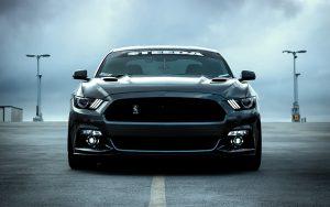 Auto schwarz